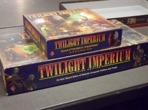 Twilight Imperium was a big hit last year, I'm very surprised it didn't get many players this year